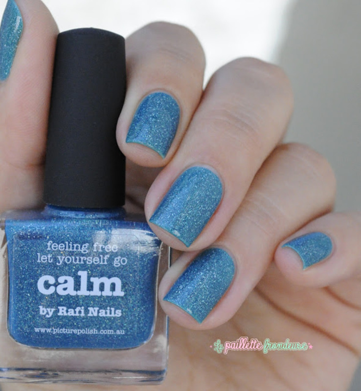 piCture pOlish Calm Swatch by nathalie lapaillettefrondeuse