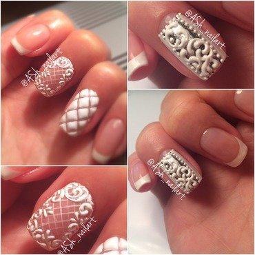 Vintage nails nail art by Anna Sh