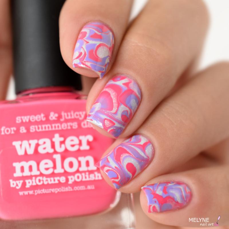 drop nails nail art by melyne nailart
