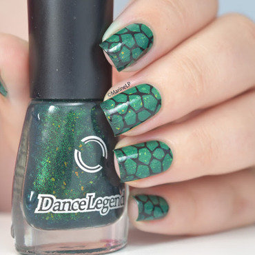 Dance legend reptile mortal kombat turtle nails bm 313 20 1  thumb370f