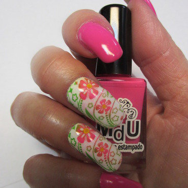 Still Summer nail art by NinaB