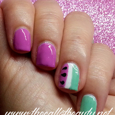 Nail 20art 20tutorial 20  20watermelon 202015 20 6  20wmm thumb370f