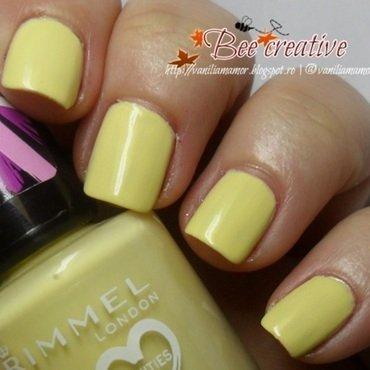 Rimmel Lemon Drop Swatch by Isabella
