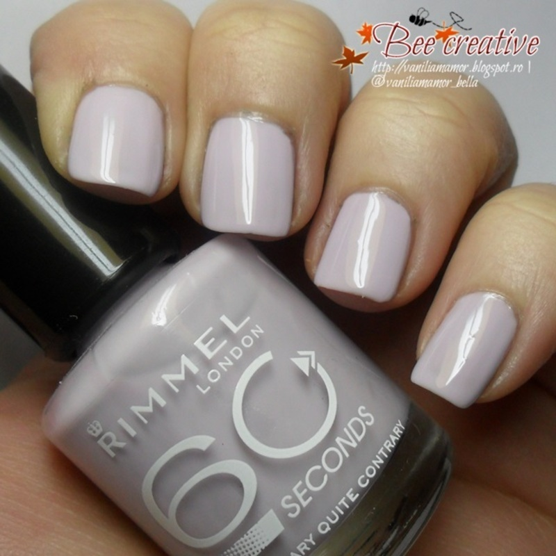 Rimmel Mary Mary quite contrary Swatch by Isabella