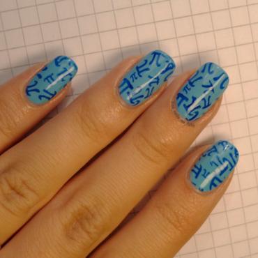 Back 2 school nails nail art by No Nails No Fshn