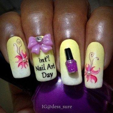 INAD nail art by Dess_sure