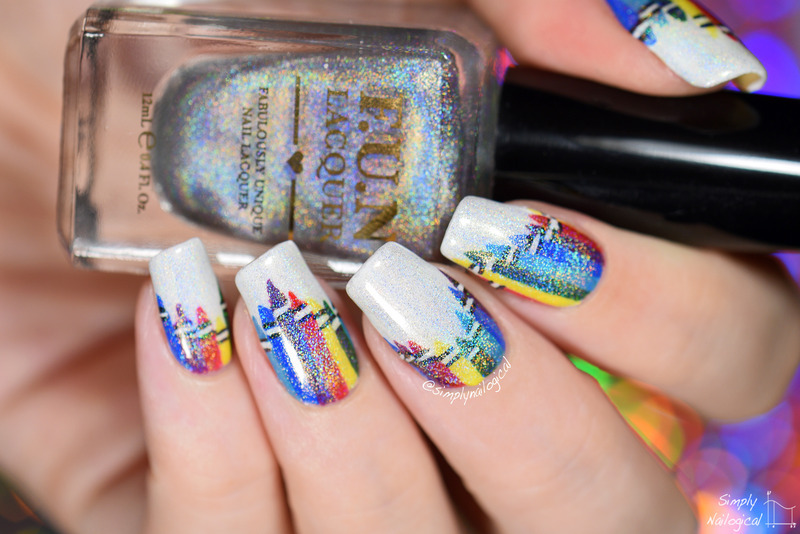 Back to school HOLO crayons nail art by simplynailogical - Nailpolis ...