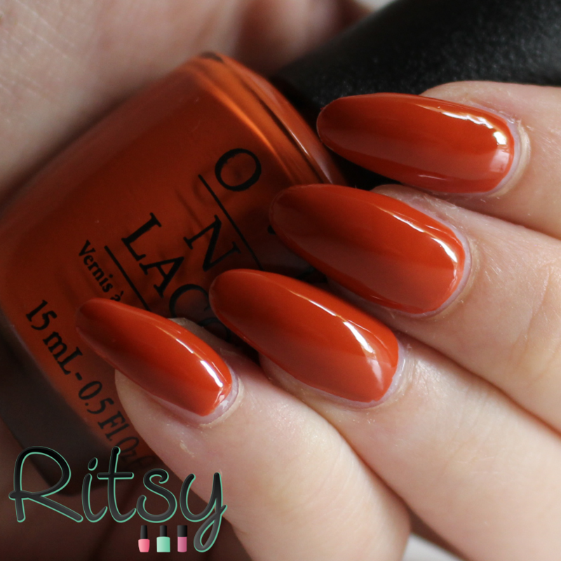 OPI It's a Piazza cake Swatch by Ritsy NL