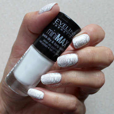 My wedding mani nail art by PolishCookie