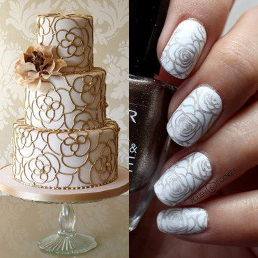 INSPIRED BY CAKE - PART 22 nail art by PolishCookie