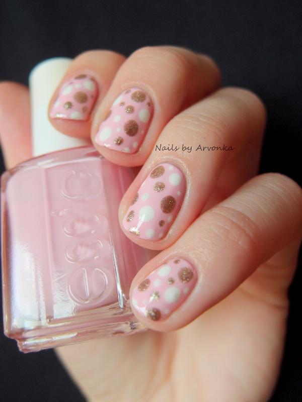Summer dotticure nail art by Veronika Sovcikova