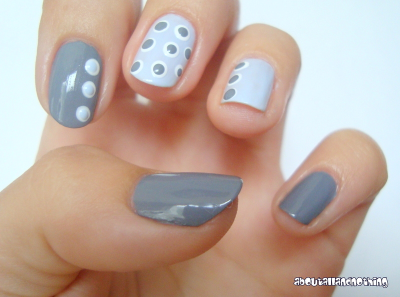 Dots nail art by Kasia