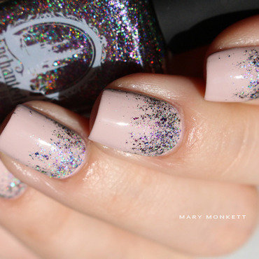Fairy nail art by Mary Monkett