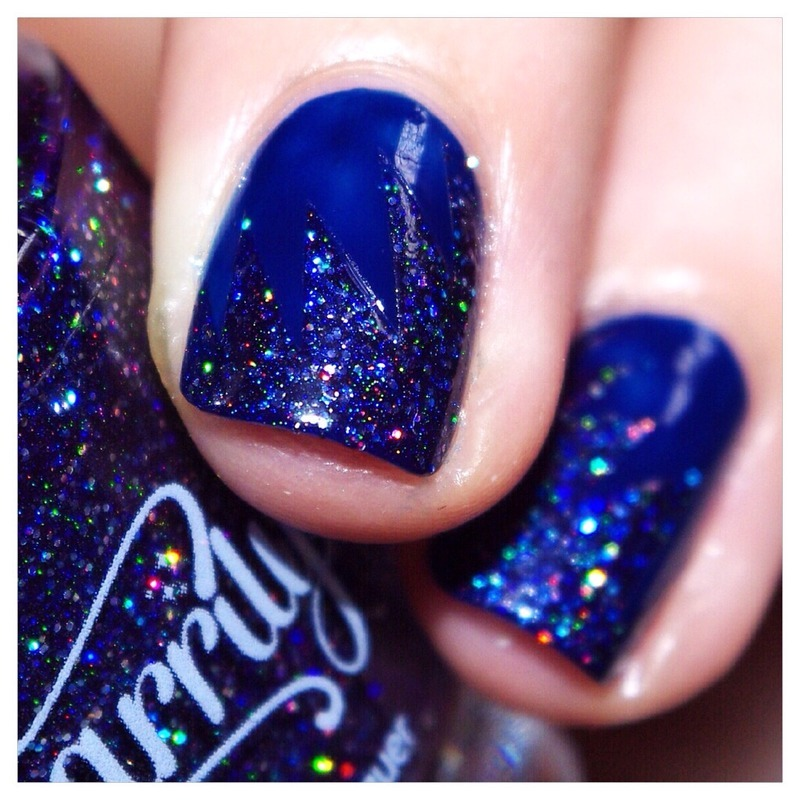 31DC2015 Blue Nails ! nail art by Bulleuw