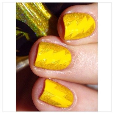 31DC2015 Yellow Nails! nail art by Bulleuw