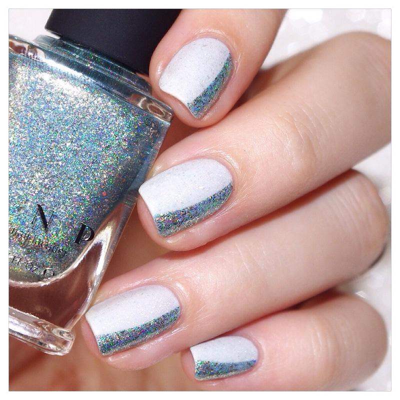 Grey ! nail art by Bulleuw