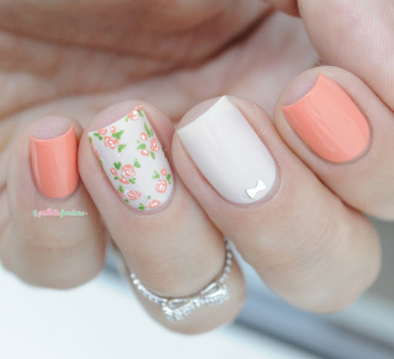 Love Mommy nail art by nathalie lapaillettefrondeuse
