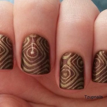 Briarwood nail art by Tzup