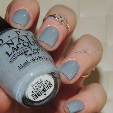 O.P.I. Cement the Deal Swatch by Ka'Nails