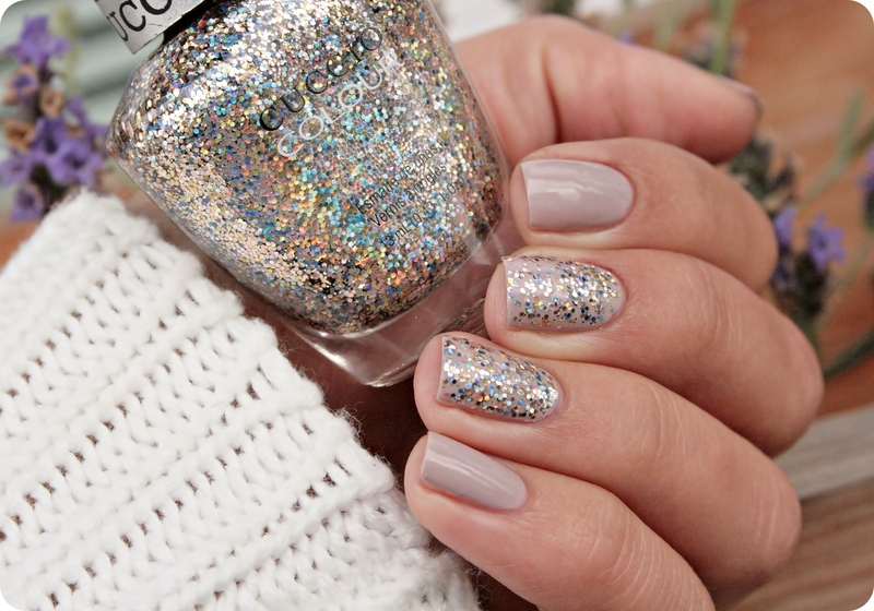 Cuccio Nail Polish Glitter- HireAbility