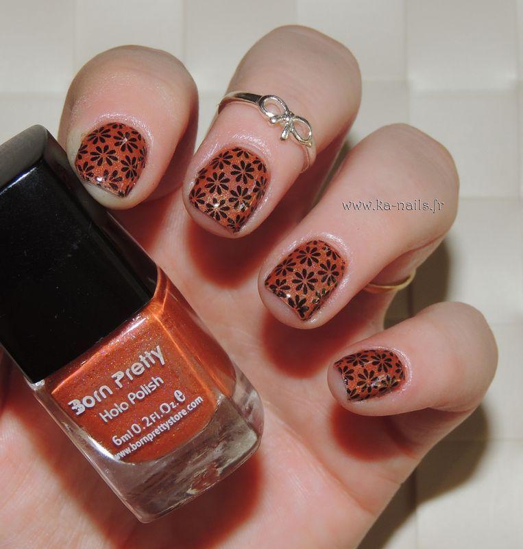 Flower Power  nail art by Ka'Nails