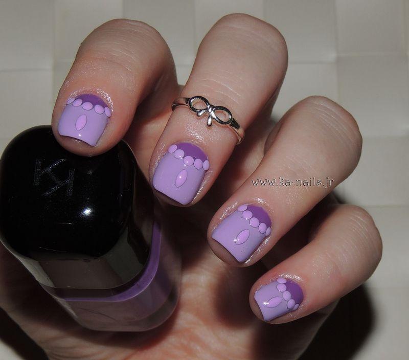 Moon Jewellery nail art by Ka'Nails
