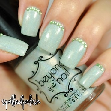 31DC2015: Green Nails nail art by Maddy S