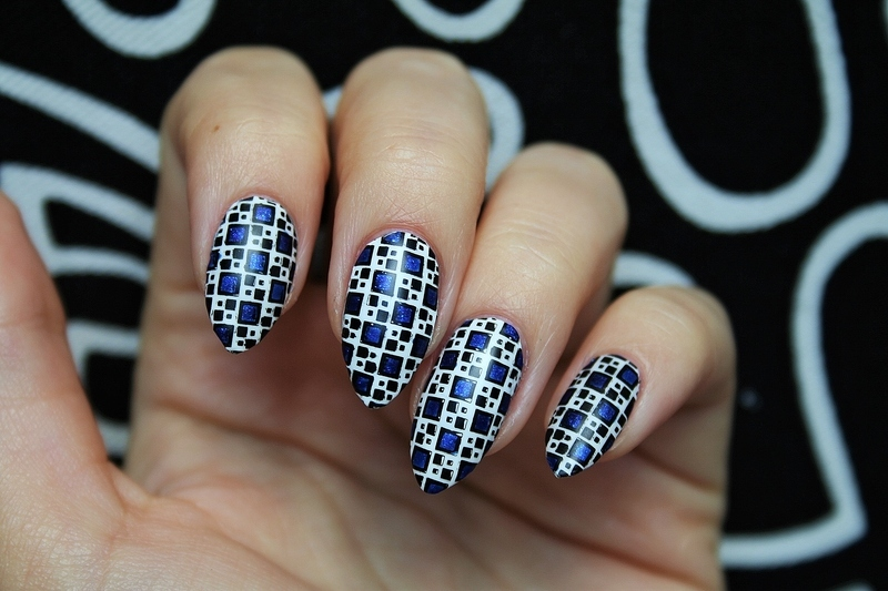 Mosaic nail art by Jane