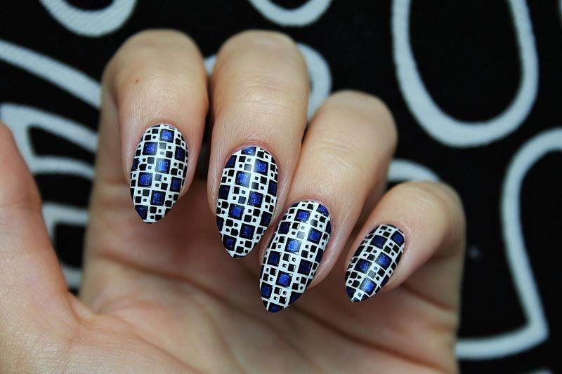 Mosaic nail art by Jane