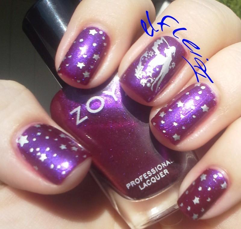 30DoCC 09-03-2015 PINK nail art by Jenette Maitland-Tomblin