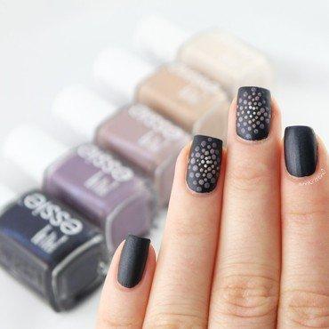Cashmere Matte Nail Art nail art by Ann-Kristin