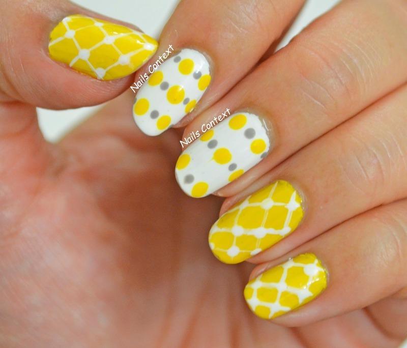 Living In Yellow nail art by NailsContext