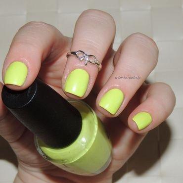 O.P.I. Life gave me Lemons Swatch by Ka'Nails