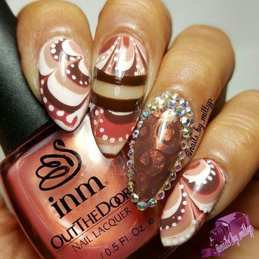 Welcome to Fall Vibes nail art by Milly Palma