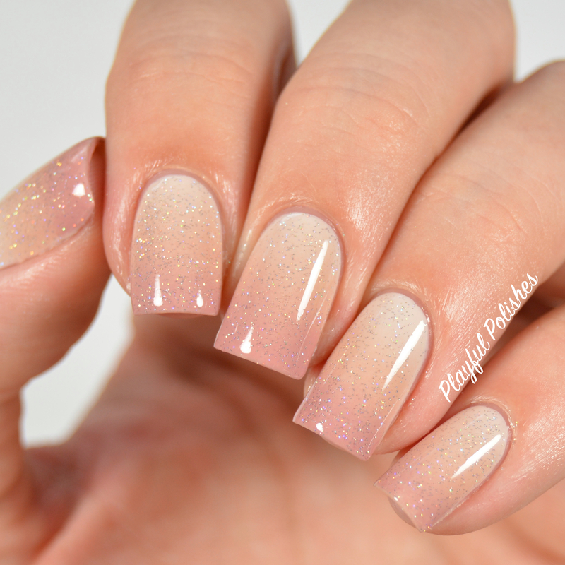 31DC2015: Day 10, Gradient Nails nail art by Playful Polishes