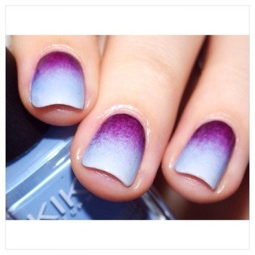 31DC2015 Gradient Nails nail art by Bulleuw