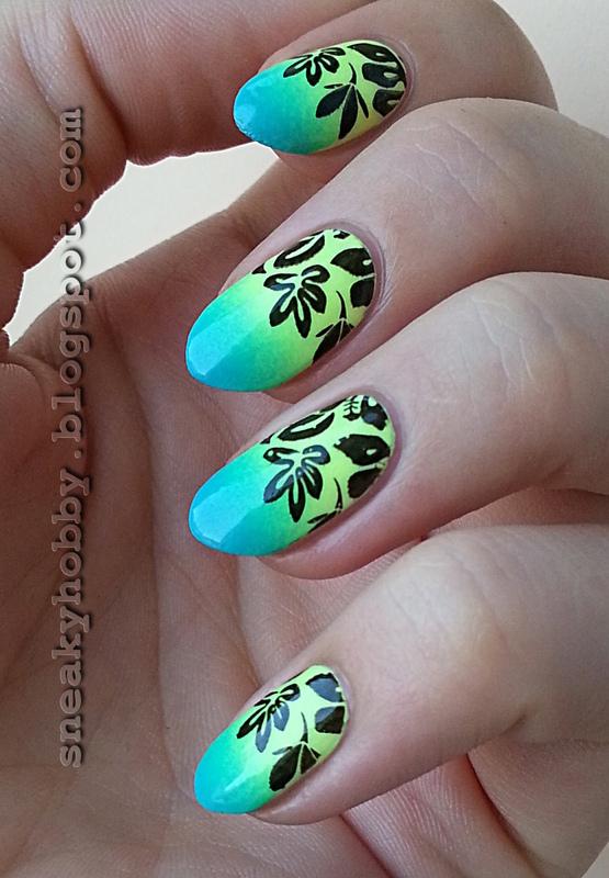 Still Tropical! nail art by Mgielka M