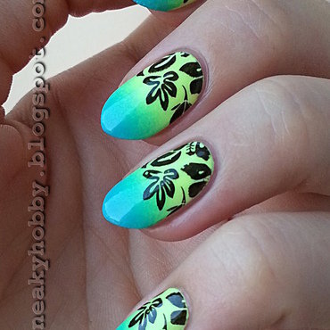 Still Tropical! nail art by Mgielka M