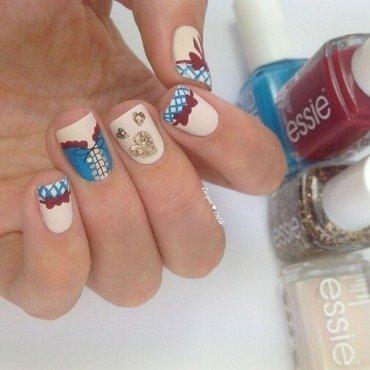 Oktoberfest Nails nail art by Anna