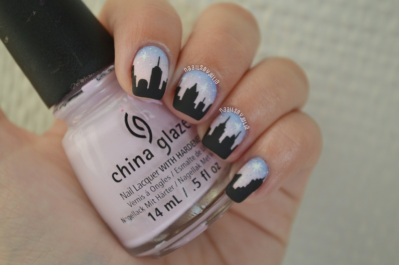 New York nail art by Julia - Nailpolis: Museum of Nail Art