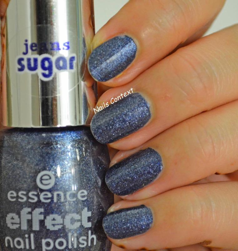 Essence Blue-jeaned Swatch by NailsContext