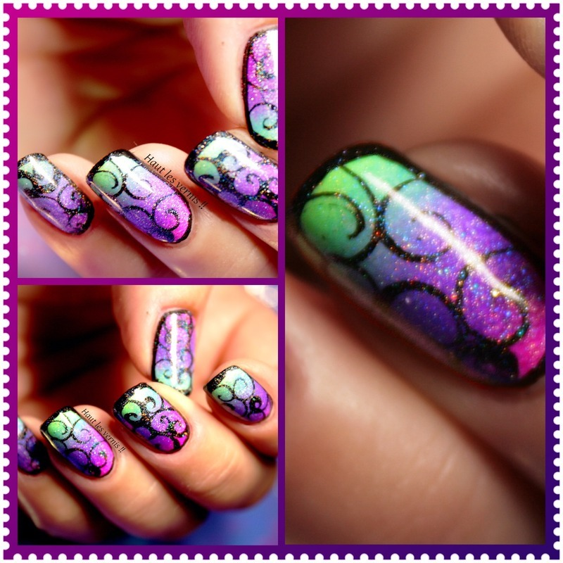 Psyche nail art by Elodie Mayer