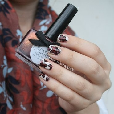 When the Leaves begin to fall nail art by katharinapeskelidou