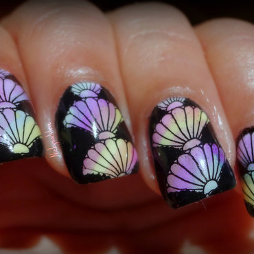 Color nail art by Nicky