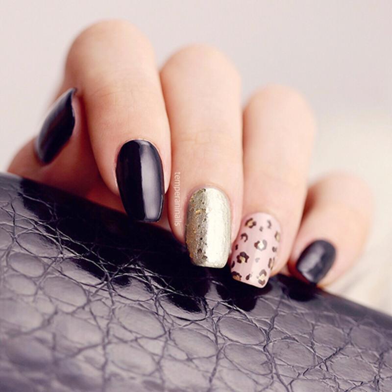Edgy nail art by Temperani Nails
