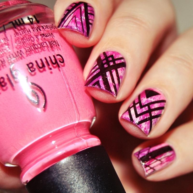 [#31DC2015] Day 16 - Geometric nail art by Lackopfer