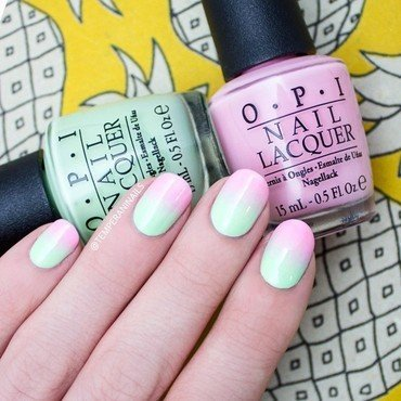 Ombre nail art by Temperani Nails