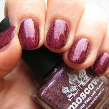 piCture pOlish Moscow Swatch by Nail Crazinesss