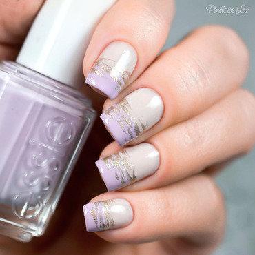 nail art abstrata nail art by Penélope Luz
