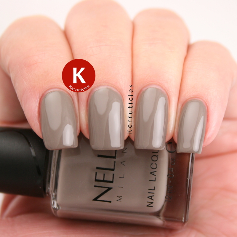 Nella Milano Iron Spring Swatch by Claire Kerr